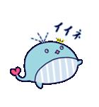 クジラのラブリー(個別スタンプ:25)