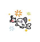 おくびょう小エビさん&コリさん(個別スタンプ:04)