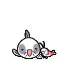 おくびょう小エビさん&コリさん(個別スタンプ:10)