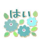 シンプルな連絡*北欧風*春の花々(個別スタンプ:05)