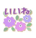 シンプルな連絡*北欧風*春の花々(個別スタンプ:07)