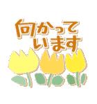 シンプルな連絡*北欧風*春の花々(個別スタンプ:26)