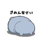 ネコのましゅまろ グレーver.(個別スタンプ:03)