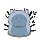 ネコのましゅまろ グレーver.(個別スタンプ:04)