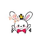 キュートなうさぎのハニーちゃん(個別スタンプ:04)