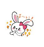 キュートなうさぎのハニーちゃん(個別スタンプ:05)