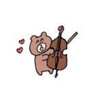 森の中のゆるゆる吹奏楽部(個別スタンプ:39)