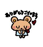クマクマ くーま 〜 らぶ 編 〜(個別スタンプ:06)