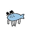 手足の生えた魚(個別スタンプ:07)