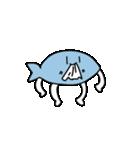 手足の生えた魚(個別スタンプ:08)
