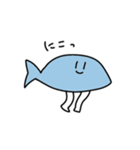 手足の生えた魚(個別スタンプ:36)