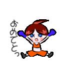 ボクシング女子!! リングのりっちゃん(個別スタンプ:02)