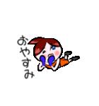ボクシング女子!! リングのりっちゃん(個別スタンプ:03)