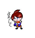 ボクシング女子!! リングのりっちゃん(個別スタンプ:09)