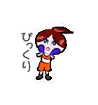 ボクシング女子!! リングのりっちゃん(個別スタンプ:11)