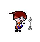 ボクシング女子!! リングのりっちゃん(個別スタンプ:16)