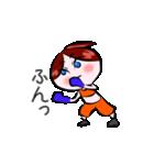 ボクシング女子!! リングのりっちゃん(個別スタンプ:35)
