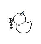 フェレットのぴぃちゃん(個別スタンプ:04)