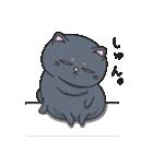 ネコのましゅまろ2 黒ver.(個別スタンプ:11)