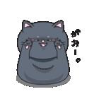 ネコのましゅまろ2 黒ver.(個別スタンプ:16)
