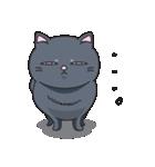 ネコのましゅまろ2 黒ver.(個別スタンプ:23)