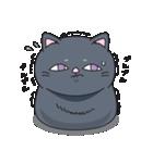ネコのましゅまろ2 黒ver.(個別スタンプ:24)