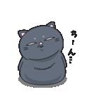 ネコのましゅまろ2 黒ver.(個別スタンプ:36)