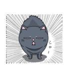 ネコのましゅまろ2 黒ver.(個別スタンプ:38)