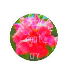 EUROPE flower♡(個別スタンプ:01)