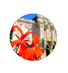 EUROPE flower♡(個別スタンプ:09)