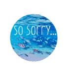 sea world♡(個別スタンプ:12)