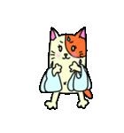 ネコな暮らし(個別スタンプ:04)