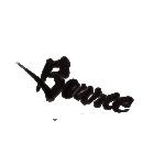 大きなアート筆文字 【英語】(個別スタンプ:35)