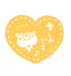 『 気持ちを伝える』スタンプ風絵文字(個別スタンプ:02)