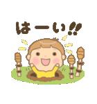幼い男の子 春version(個別スタンプ:3)