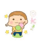 幼い男の子 春version(個別スタンプ:9)