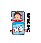 あかぼーママと犬っころのスタンプ(個別スタンプ:02)