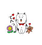 あかぼーママと犬っころのスタンプ(個別スタンプ:24)