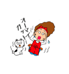 あかぼーママと犬っころのスタンプ(個別スタンプ:25)