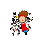あかぼーママと犬っころのスタンプ(個別スタンプ:28)