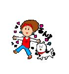 あかぼーママと犬っころのスタンプ(個別スタンプ:32)