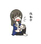 ママと赤ちゃんの日常(個別スタンプ:14)