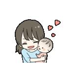 ママと赤ちゃんの日常(個別スタンプ:26)