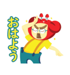 カニメガネ君 第一弾(個別スタンプ:02)