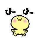 ぴぃちゃん。(個別スタンプ:01)