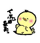 ぴぃちゃん。(個別スタンプ:13)