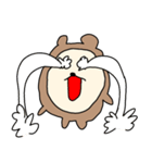 ハダクマちゃん(個別スタンプ:19)