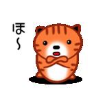 ひまねこにゃんず【茶トラ】(個別スタンプ:14)