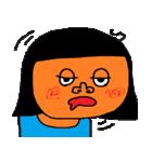 たくさんの顔(女の子)(個別スタンプ:04)