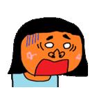 たくさんの顔(女の子)(個別スタンプ:08)